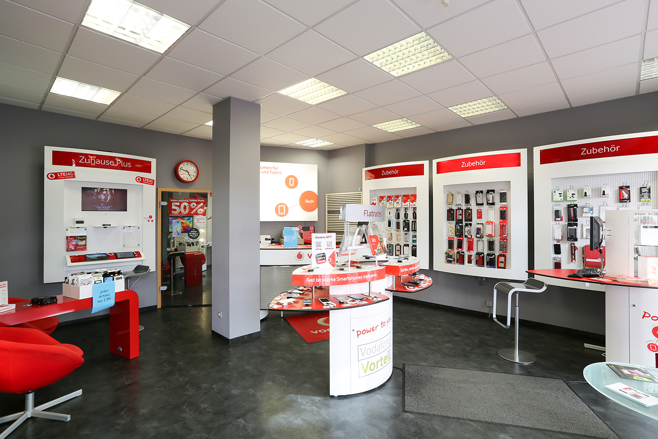 Logo von Vodafone Shop Güstrow City